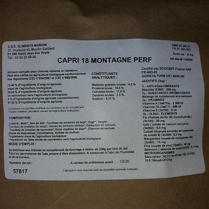 Capri 18 Montagne BIO - 25 Kg