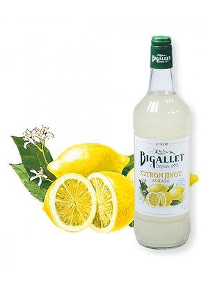 Bigallet - Sirop Citron Acidulé - 1L