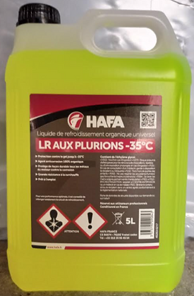 Liquide de refroidissement -35°C | 5L