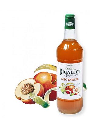 Bigallet - Sirop Nectarine - 1L