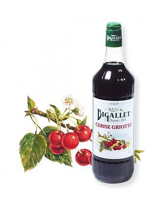 Bigallet - Sirop Cerise Griotte - 1L