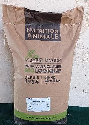 Maïs Concassé Biologique - Sac 25 Kg