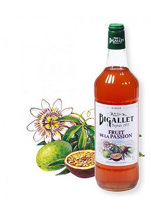 Bigallet - Sirop Fruits de la Passion - 1L