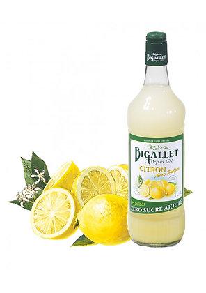 """Bigallet - Citron """"Les Pulpés"""" - Sans sucre ajouté - 1L"""