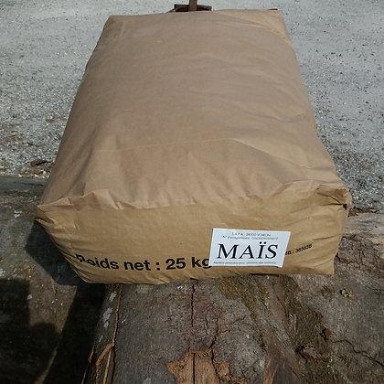 Maïs en Grains - Sac 25 Kg