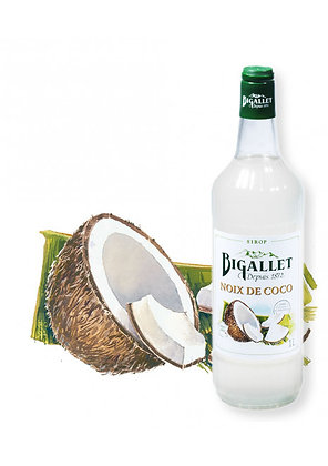 Bigallet - Sirop Noix de Coco - 1L