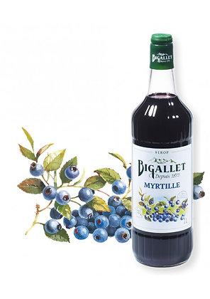 Bigallet - Sirop Myrtille - 1L