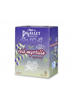 Bigallet - Rosé Myrtille - 3L