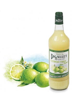 """Bigallet - Citron Vert """"Les Pulpés"""" - Sans sucre ajouté - 1L"""