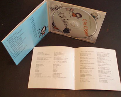 Music CD's or Online Download