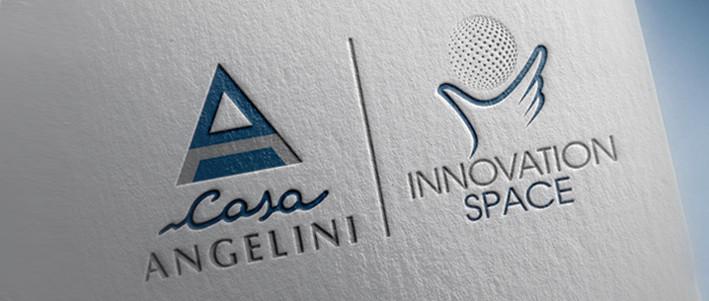 Sandromengadv firma la nuova identità distintiva Innovation Space di CASA ANGELINI.