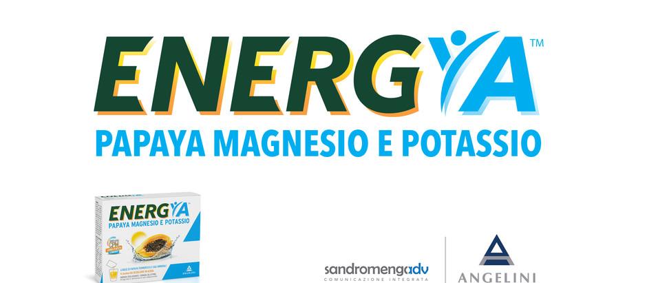 Sandromengadv per il rilancio della linea Papaya Fermentata | Angelini Farmaceutica, con un nuovo b