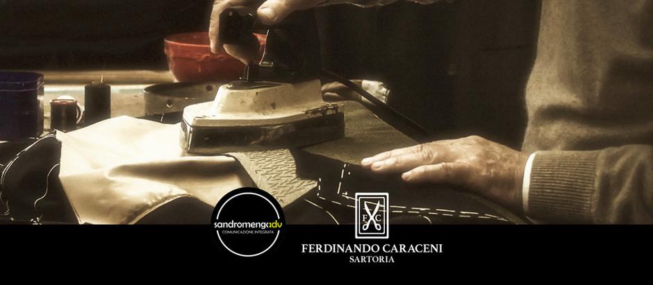Sandromengadv partner per la comunicazione della Caraceni Tailor Milano