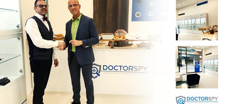 La nuova corporate identity Doctorspy da il via al suo nuovo progetto franchising Italia.