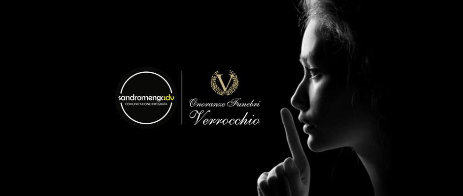 Sandromengadv partner per la comunicazione dell'azienda di onoranze funebri Verrocchio.