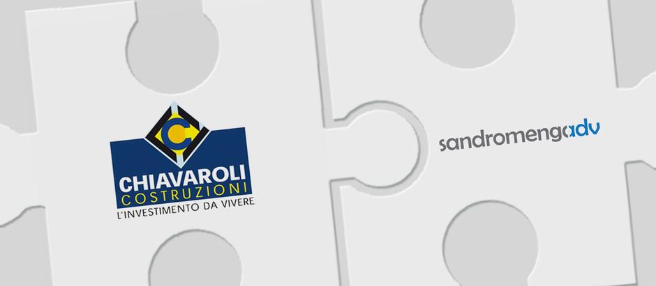 Sandromengadv diventa il nuovo partner per la comunicazione della Chiavaroli immobiliare.