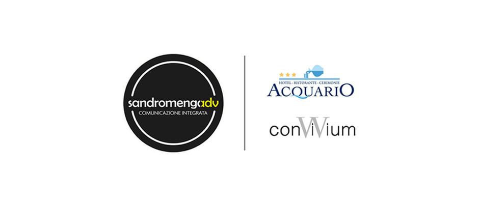 Sandromengadv è il nuovo partner per la comunicazione dell'Hotel Acquario e della Villa Convivium