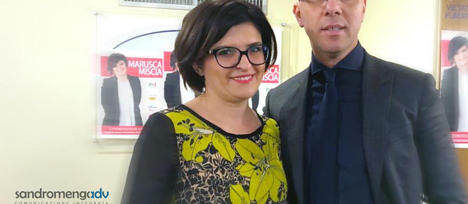 Sandromengadv per la comunicazione di Marusca Miscia, candidata alla Camera dei Deputati.