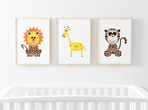 Create Your Own Animal Print Set