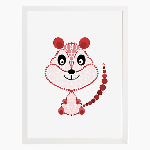 Squirrel Nursery Art Print
