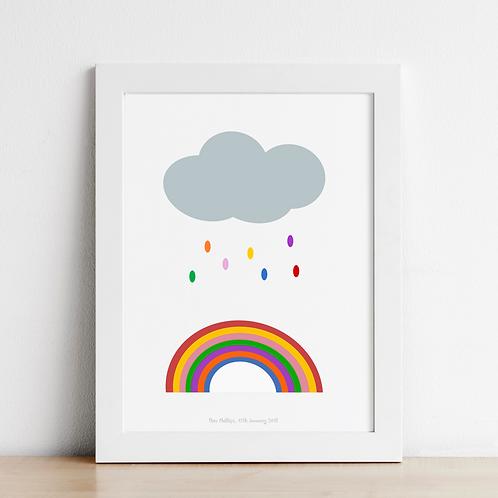 Rainbow Maker Nursery Art Print