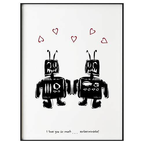 I love you robots