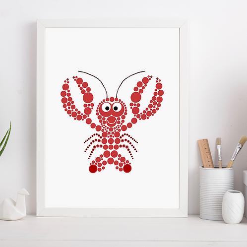 Lobster Nursery Art Print