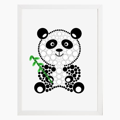 Panda Nursery Art Print