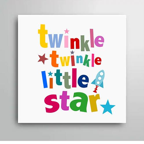 TWINKLE TWINKLE LITTLE STAR FRIDGE MAGNET STYLE