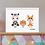 Thumbnail: Personalised Animals Family Print