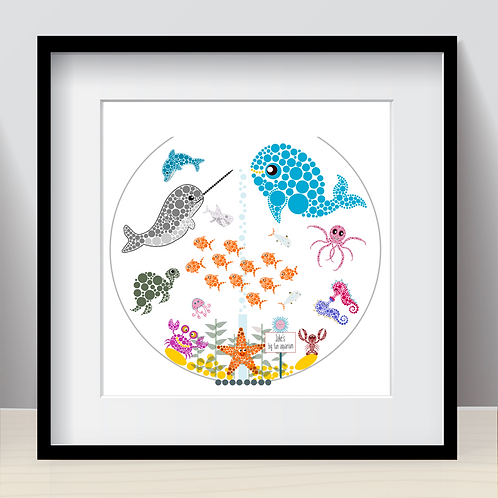 Personalised Big Fun Aquarium!