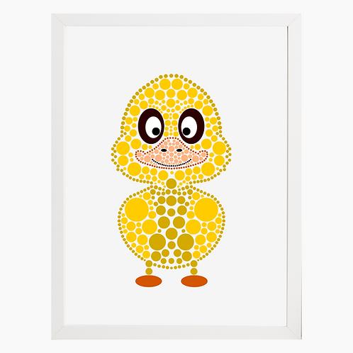 Duck Nursery Art Print