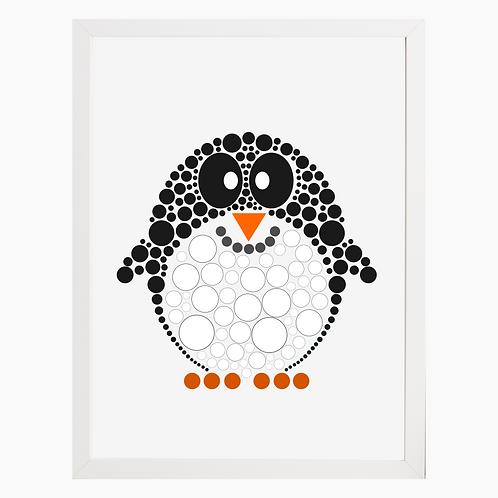 Penguin Nursery Art Print