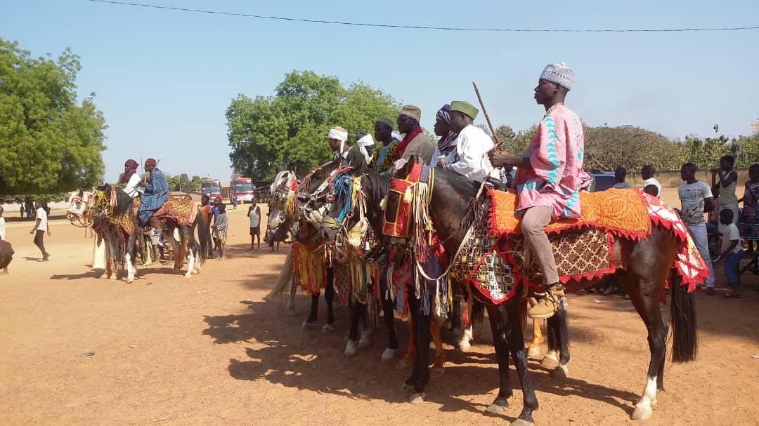 Sport avec des Chevaux (Benin)