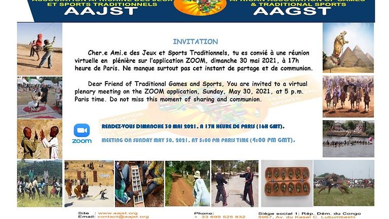Réunion visioconférence AAJST du 30.5.2021 à 17h00 Paris
