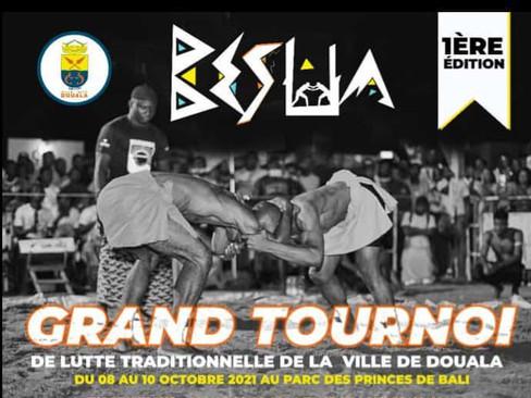 Tournoi de lutte traditionnelle - Cameroun - Blaise Nonga