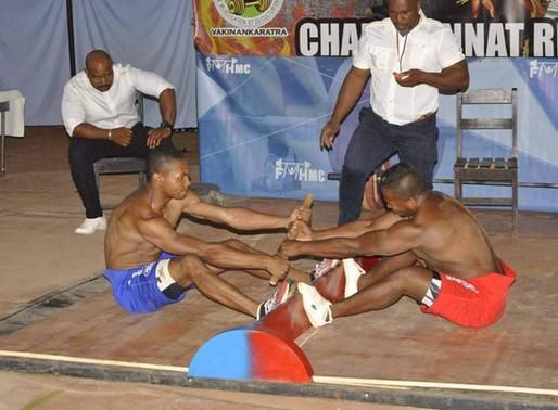 Madagascar ( Bruno Alain ) - Mas wrestling Event / Evenement Mas Wrestling