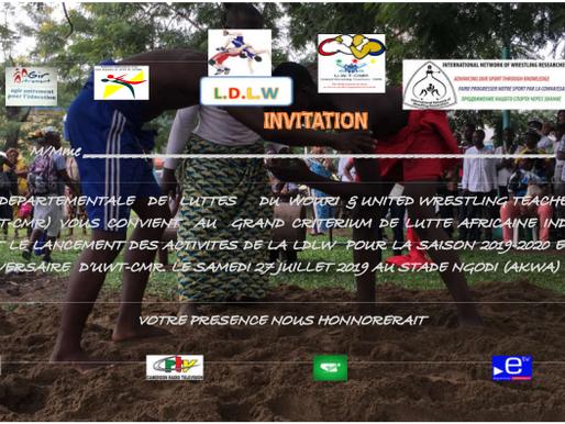 Lutte Africaine individuelle au CAMEROUNE prévue 27.07.2019