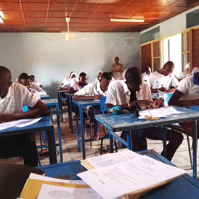 ( MALAM BARKA, Niger) Bagage d'arbitres niveau 1 et/ou entraineur niveau1 en  lutte Africaine