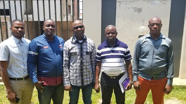 Président AAJST, Joseph RASHIDI en  visite  dans deux pays, Zambie Lusaka et Zimbabwe/Harare