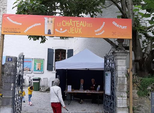 Le Château des Jeux - Musée suisse du Jeux - 8 sep. 2019