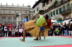 Kabubu, lutte traditionnelle africai