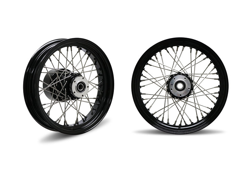 Sportster 40 Spoke Wheels 21x2.15 / 16x3.5 or 18x4.25
