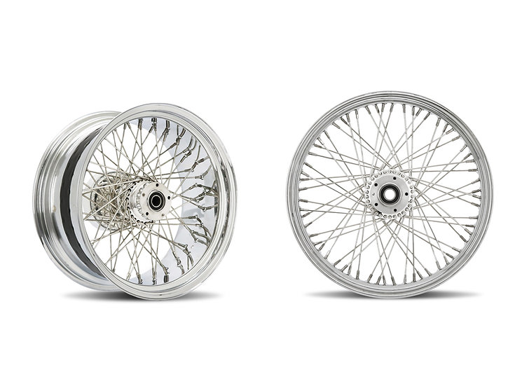 Softtail 60 Spoke Profile Wheels 18x3.5 / 18x7.0