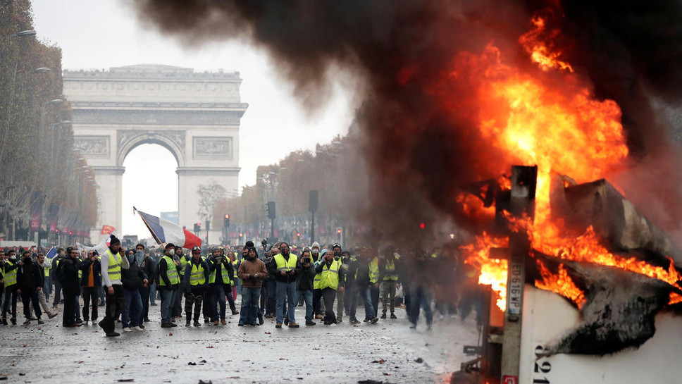 The Paris Riots and the Climate Change Issue