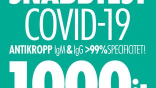 Våra åtgärder med anledning av COVID-19