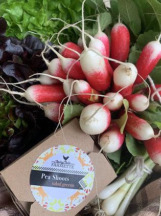 Farmers Market Salad Kit with eggs