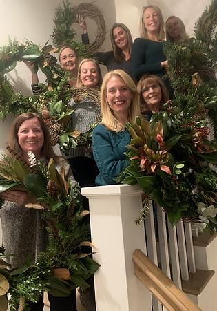 Host a Private Magnolia Wreath Building Workshop