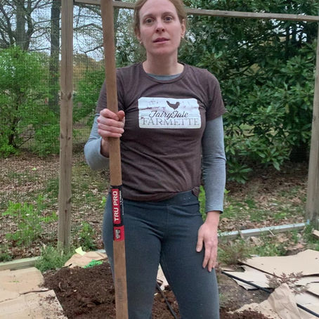 Farmette Victory Garden: Start a Garden Bed with Cardboard