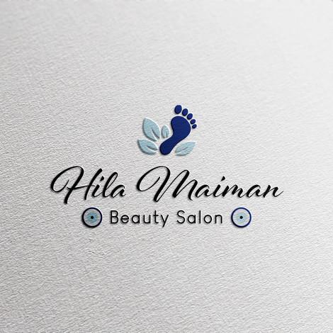 עיצוב לוגו לפדיקוריסטית